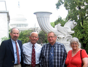 Brooks Fahy with Dennis and Dorothy Slaugh lobbying against predator poisons in DC