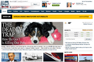 Photo of Fox News homepage